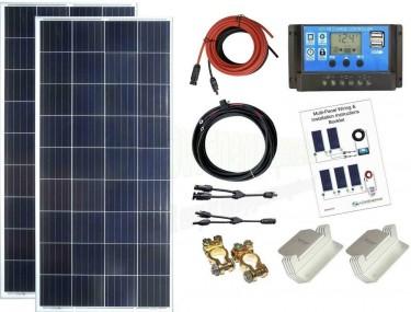 300w Solar Panel Kit 12V/24V Battery Charging PWM