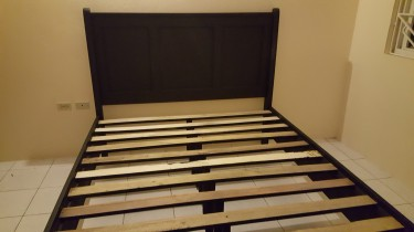 Queen Bed Base With Headboard