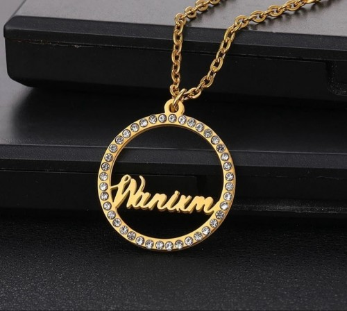 Round Custom Necklace