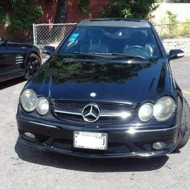 2004 BENZ CLK 500 V8