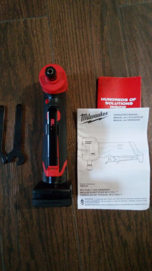 Milwaukee Fuel 1/4 Inch Die Grinder Set