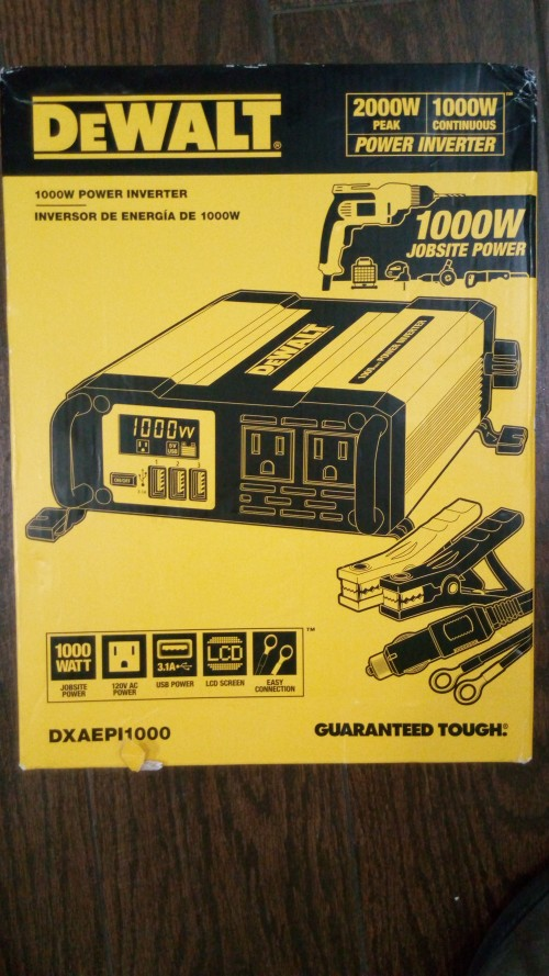 DeWalt 1000 Watt Inverter