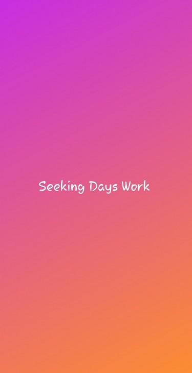 Mature Lady Seeking Days Work