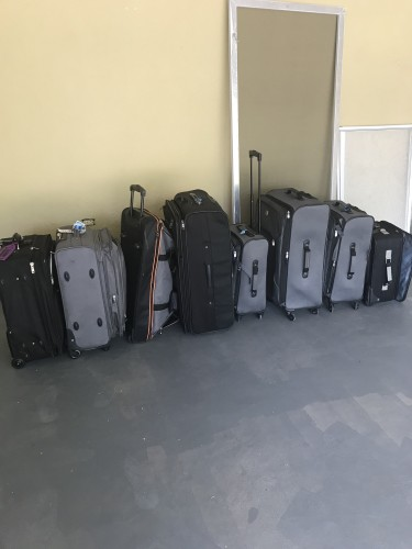 Luggage Sets And Plastic Barrel Container