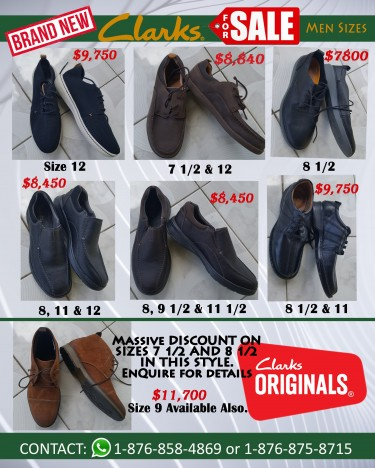 Clarks Shoes For Men (Brand New)