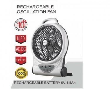 Roshan Rechargeble Oscillation Fan