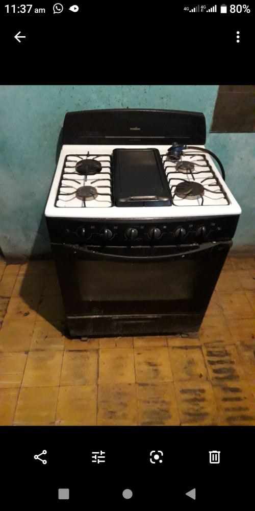 Gas Stove Work Selling Now Oven Work 4burner 32k