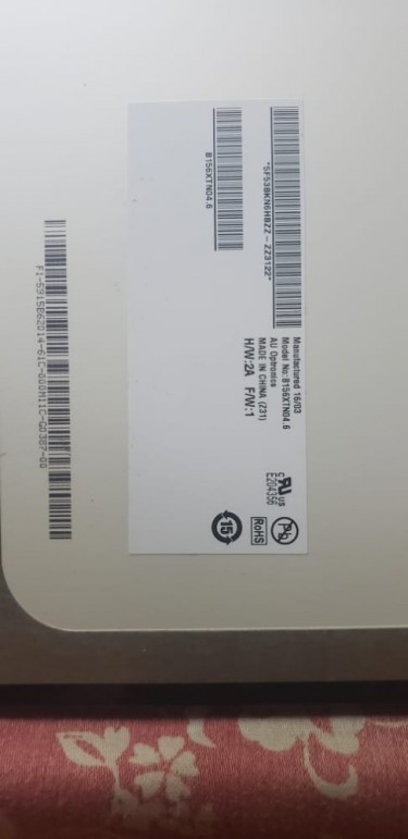 Laptop Parts (Screen, 4GB Ram, Wifi Card Etc)