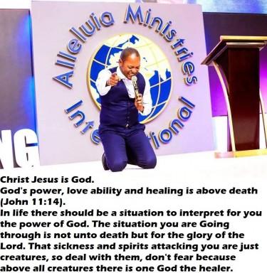 Alleluia Ministries International +27739544742