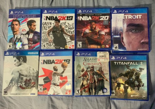 Faily New And New Ps4 Cd