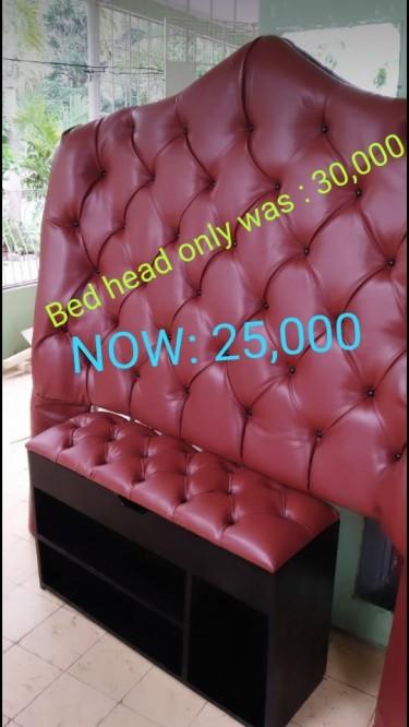 Bedhead N Ottoman Sale Out