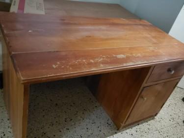 Yard Sale: Desk, Ashley Sofa, Dining Table & More