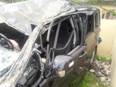 Honda Step Wagon Spada 2010 Crash