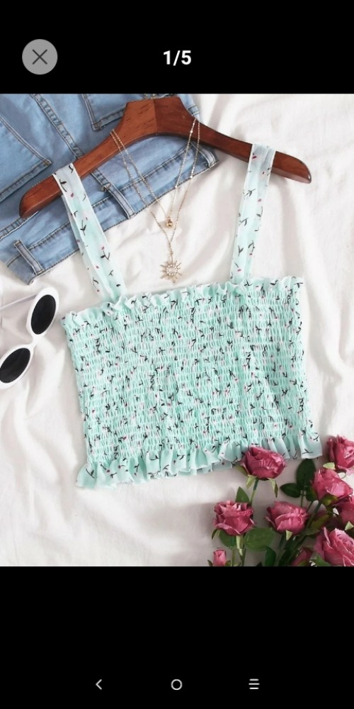 Get A Floral Romper And Crop Top For Only$3800