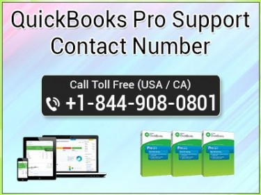 Quickbooks Pro Support Contact Number