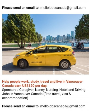 Earn $120 Per Day. Help People Get Jobs In Canada