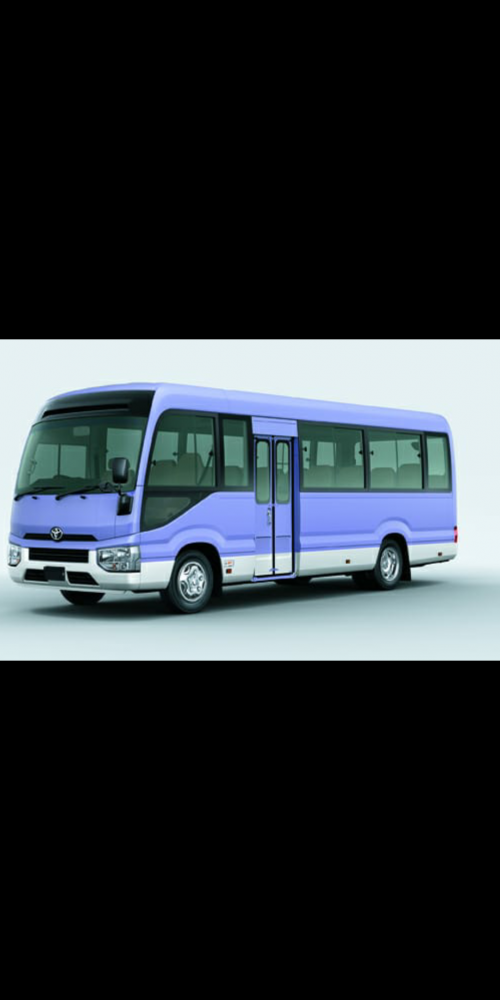 Selling 2 Coaster Bus, Year 2019