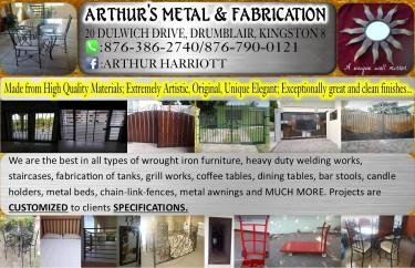 Contact: Mr. Arthur Harriott CEO/Metal & Fabricat