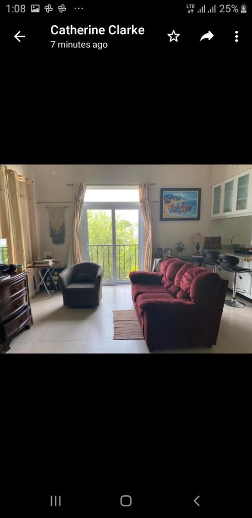 A Spacious 1 Bedroom Studio Apartment