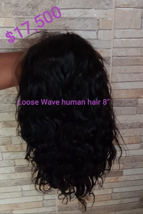 8' Peruvian/malaysian Human Hair