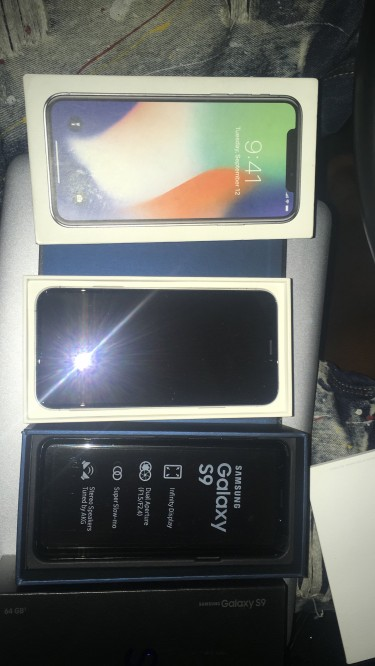 Iphone X . Brand New Fully Unlocked