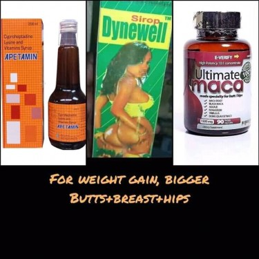 For Weight Gain, Bigger Butts+breast+hips And Slim