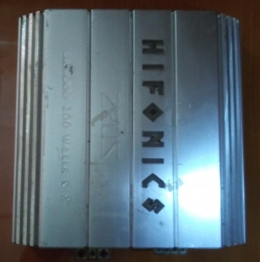 Cat Amplifier Hifonics 200 Watts 2 Channel