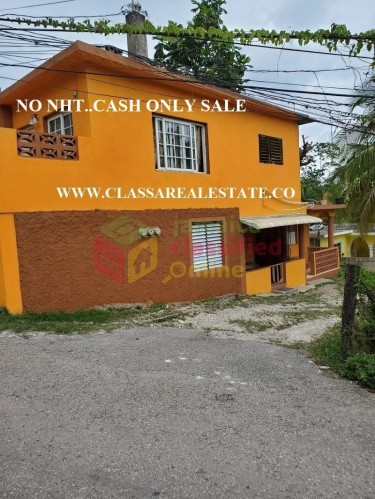HOPWELL HOUSE FOR SALE..(CASH ONLY) 4 BED