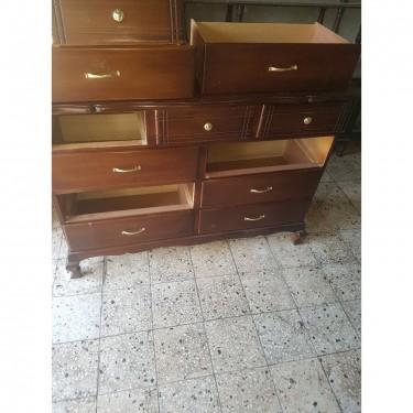 9 Draw Dresser (triple Mirror)