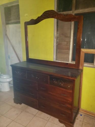 (9) Draw Dresser Big Frame Furniture Color