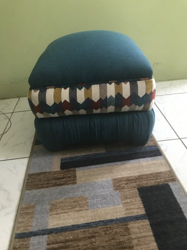Pair Of Large OttomonHassock (Negotiable)