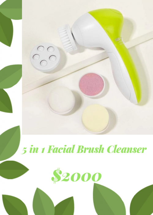 Facial Brush Cleanser