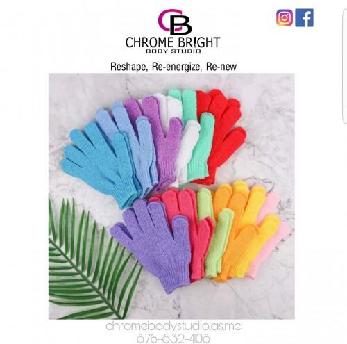 Exfoliating Gloves Pair