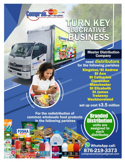 Fully Equipped Retail Distribution Outlets
