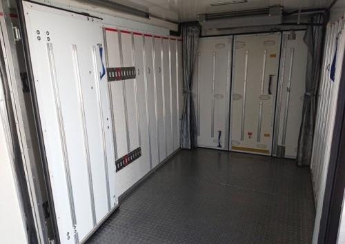 2015 Isuzu 5- 7 Tonne Double Freezer Truck For Sal