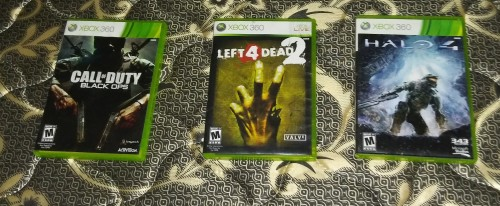 Games CDs For Xbox360