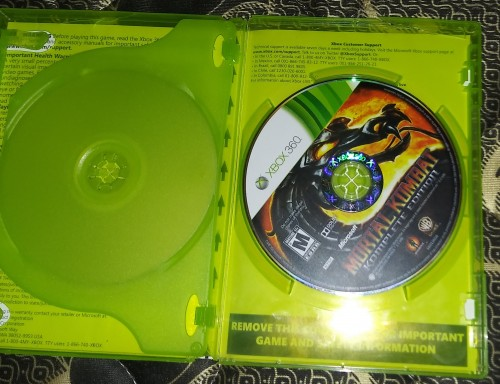 Game CDs For Xbox360