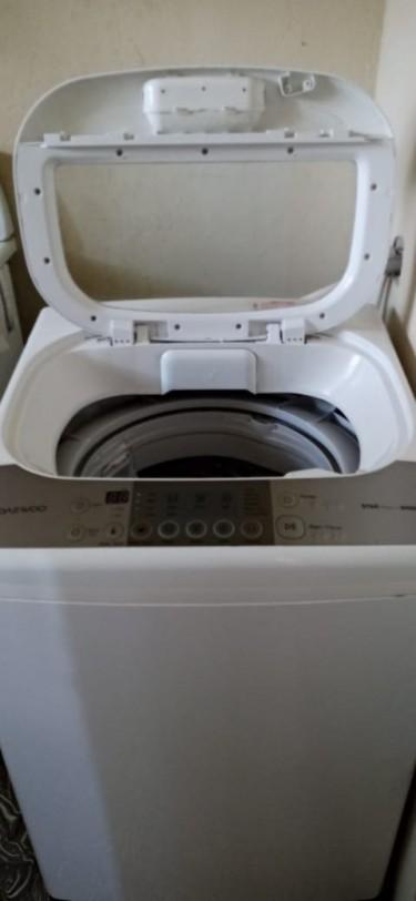 Washing Machine Brand Daewoo Model Air Bubble