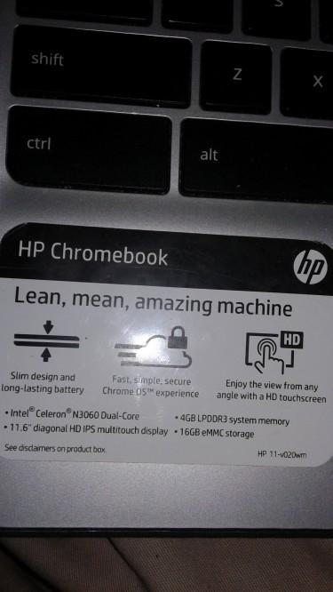 Used Hp Chromebook 11 2020