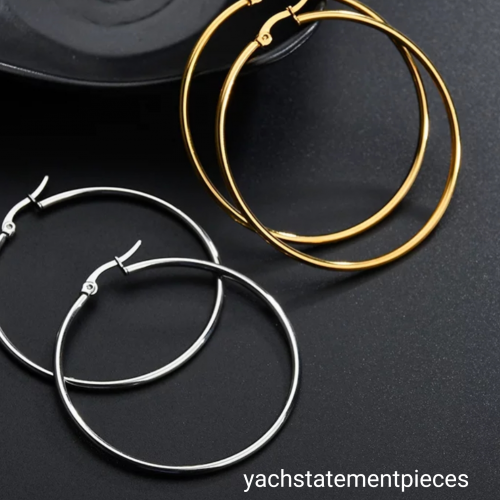 Stainless Steel Unique Earrings.