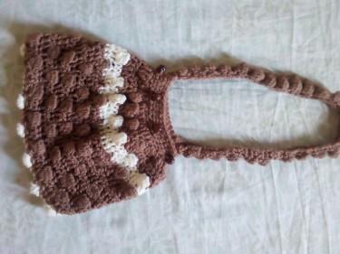 Handmade Crochet Bag;Great As A Gift!
