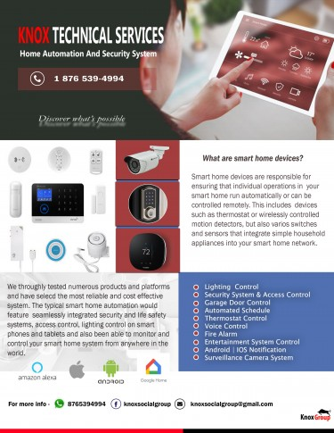 Smart Home And Security System