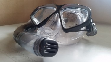 US Diver Tampered Glass Mask