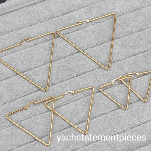 Stainless Steel Unique Earrings