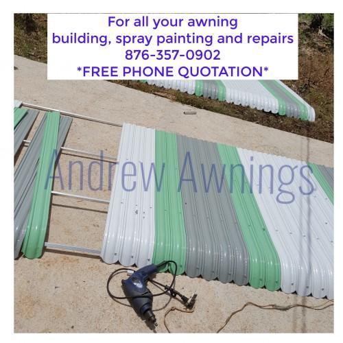 Aluminium Awnings - No Whatsapp