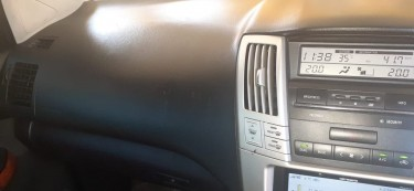 2012 Toyota Harrier In Excellent Condition.