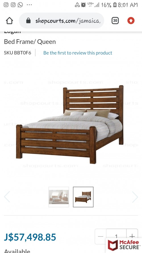 Queen Size Modern Bed