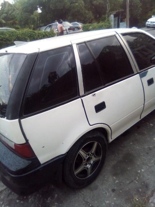 96 Suzuki Swift Driving AC Stan. Rims Tire 120 K