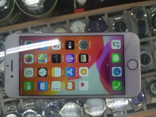 IPhone 7 128gb Unlocked Outer Glass Cracked