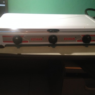 Used Desktop Gas Stove With The Gas Head And Hose